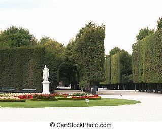 Park of Schonbrunn Palace