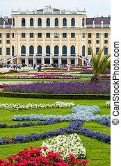 Schonbrunn Palace in Vienna