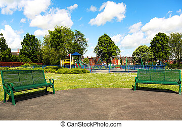park, stadt