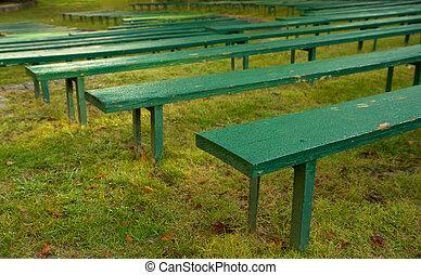 Park theater seats