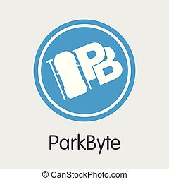 Parkbyte Cryptographic Currency - Vector Symbol. - Parkbyte ...