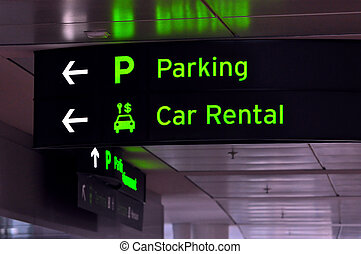 Parking and car rental
