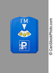 Parking disc Be Happy