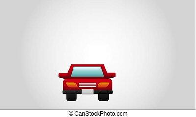 Parking icon design, Video Animation