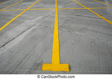 Parking lot lanes