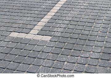 Parking lot - Empty parking lot