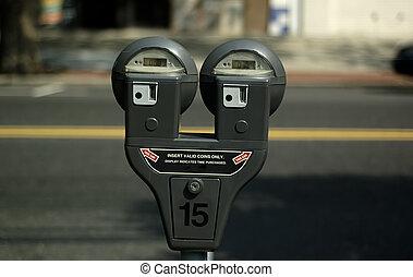 Parking Meter - Photo of Parking Meter.
