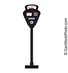 parking meter zone - parking meter or park zone public space...