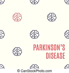 Parkinson's disease brain poster