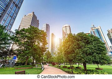 parks, and, современное, архитектура