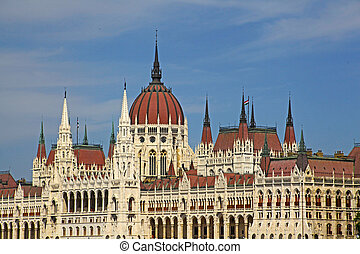 Parlament in Budapest, Hungary