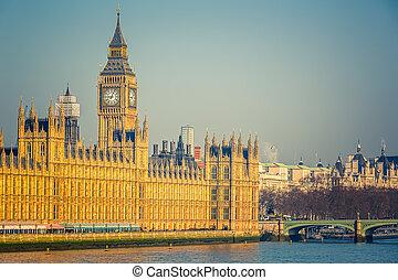 parlament, nagy ben, london, épület