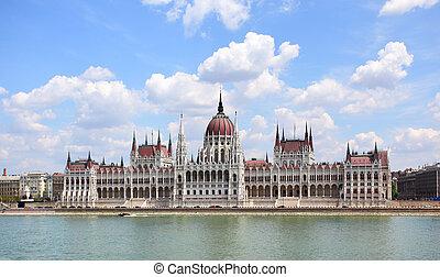 parlament, w, budapeszt