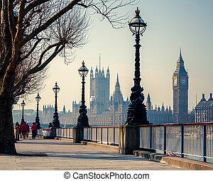 parlamento, ben grande, londra, case
