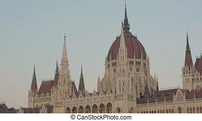 parlamento, budapest, edificio, húngaro