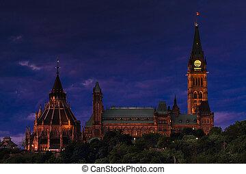 parlamento, canada's