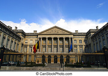 parlamento, casa, bruxelles, belgio