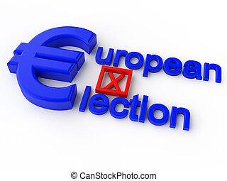 parlamento, elezione, europeo