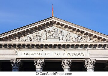 parlamento, españa