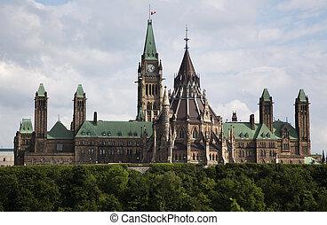 parlamento, ottawa, canadiense