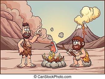 parlare, cavemen