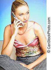 parlare, telefono cellulare