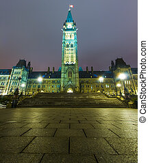 Parliament Building in Ottawa Canada