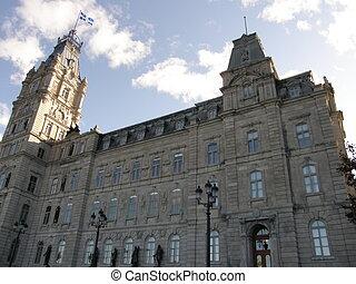 Parliament Building in Quebec City