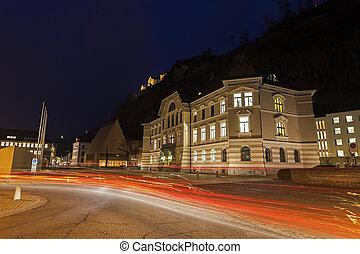 Parliament building in Vaduz