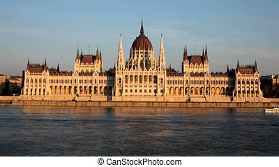 Parliament - Rhe Parliament building in Budapest, Hungary