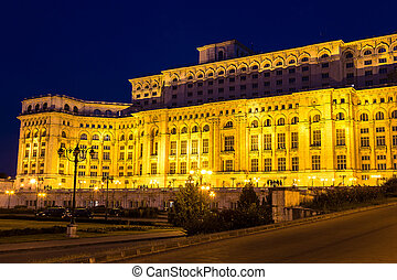 Parliament in Bucharest, Romania - Parliament, The People's...