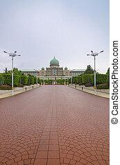 Parliament in Putrajaya, Malaysia - Parliament in Putrajaya,...