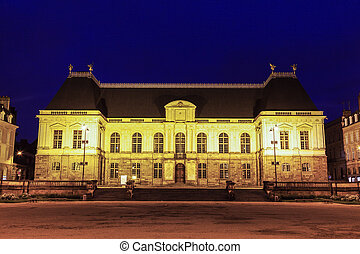 Parliament of Brittany in Rennes. Rennes, Brittany, France