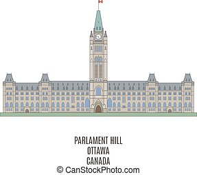 Parliament of Canada on Parliament Hill