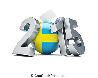 parliamentary elections in sweden on a white background