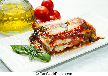 parmigiana, berenjena