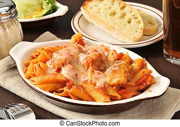 parmigiana, chicken
