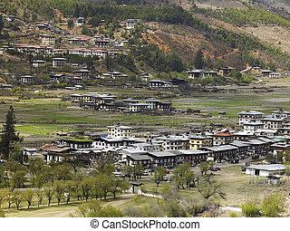 paro, 在, the, 王國, ......的, 不丹