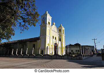 Picture of the church of San Marcos in Gracias