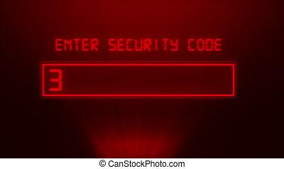 parola accesso, sicurezza, concetto