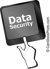 parola, bottone, tastiera, sicurezza, dati, icona