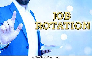 parola, rotation., differente, pratica, affari, scrittura, testo, concetto, fra, tasks., spostamento, personale, lavoro