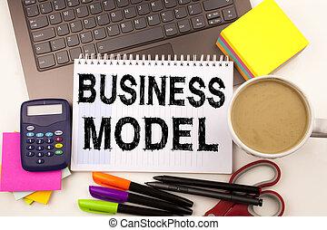 parola, scrittura, affari, modello, in, ufficio, con, dintorni, tale, come, laptop, penna marcatore, stationery, caffè, concetto affari, per, digitale, marketing, amministrazione, strategia, officina, fondo, con, spazio copia