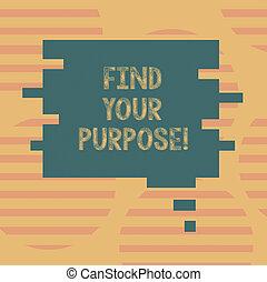 parola, scrittura, testo, trovare, tuo, purpose., concetto affari, per, ricerca, ragioni, per, quale, qualcosa, è, fatto, o, creato, vuoto, colorare, bolla discorso, in, pezzo enigma, forma, foto, per, presentazione, ads.