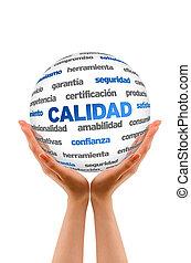 parola, sfera,  spanish), qualità,  (in,  3D