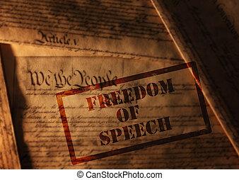 parole, liberté
