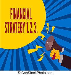 parole, porte voix, hu, vide, financier, business, perspicacités, concept, context, 1, 2., construire, mot, bubble., écriture, 3.., texte, mâle, tenue, analyse, stratégie, main