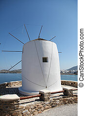 Paros island in the Cyclades in Greece