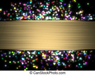 parpadeo, luces, sparkle., letrero nombre, navidad, colorido