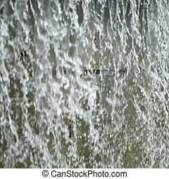 parque água, chafariz